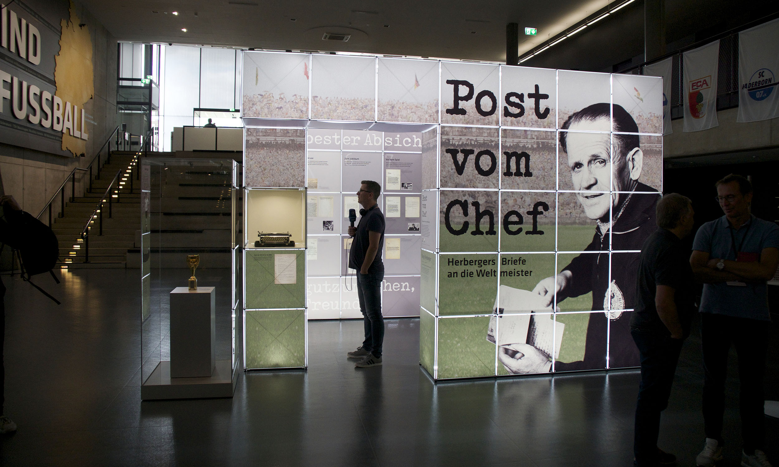 Sonderausstellung des Deutschen Fußballmuseums